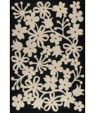 RugStudio presents MAT The Basics Newport Charcoal/White Hand-Tufted, Good Quality Area Rug
