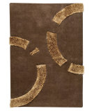 RugStudio presents MAT The Basics Odessa Brown Hand-Tufted, Good Quality Area Rug