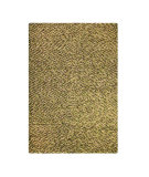 RugStudio presents MAT The Basics Omega Olive Flat-Woven Area Rug