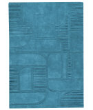 RugStudio presents MAT The Basics Orlando Petrol Hand-Tufted, Good Quality Area Rug