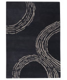 RugStudio presents Rugstudio Sample Sale 59423R Charcoal Hand-Tufted, Good Quality Area Rug