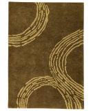 RugStudio presents MAT The Basics Pamplona Olive Green Hand-Tufted, Good Quality Area Rug