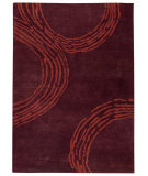 RugStudio presents MAT The Basics Pamplona Plum Hand-Tufted, Good Quality Area Rug