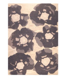 RugStudio presents MAT The Basics Poppy Grey Hand-Tufted, Good Quality Area Rug