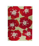 RugStudio presents MAT The Basics Poppy Orange Hand-Tufted, Good Quality Area Rug