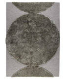RugStudio presents MAT The Basics Rondo Silver Hand-Tufted, Good Quality Area Rug