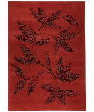 RugStudio presents MAT The Basics Samarkand Red Hand-Tufted, Good Quality Area Rug