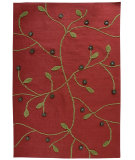 RugStudio presents Rugstudio Sample Sale 59475R Red Flat-Woven Area Rug