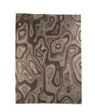 RugStudio presents MAT The Basics Valley Grey Hand-Knotted, Good Quality Area Rug