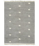 RugStudio presents MAT The Basics Verona Grey Hand-Knotted, Good Quality Area Rug