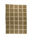 RugStudio presents MAT The Basics Piano Beige Hand-Knotted, Good Quality Area Rug