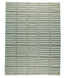 RugStudio presents MAT The Basics Piano White Hand-Knotted, Good Quality Area Rug