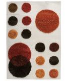 RugStudio presents MAT The Basics Planet Red/Orange/Brown Hand-Tufted, Good Quality Area Rug