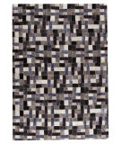RugStudio presents Mat Vintage Puzzle Grey Hand-Tufted, Good Quality Area Rug