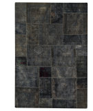 RugStudio presents MAT Vintage Renaissance Dk.grey Hand-Knotted, Good Quality Area Rug