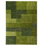 RugStudio presents MAT Vintage Renaissance Green Hand-Knotted, Good Quality Area Rug