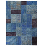 RugStudio presents MAT Vintage Renaissance Lt.blue Hand-Knotted, Good Quality Area Rug