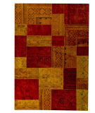 RugStudio presents MAT Vintage Renaissance Red/Orange Hand-Knotted, Good Quality Area Rug