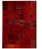RugStudio presents MAT Vintage Renaissance Red Hand-Knotted, Good Quality Area Rug