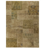 RugStudio presents MAT Vintage Renaissance Sand Hand-Knotted, Good Quality Area Rug