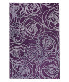 RugStudio presents MAT Orange Milano Rosa Purple Hand-Tufted, Good Quality Area Rug