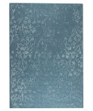 RugStudio presents Mat The Basics Santoor Turquoise Hand-Tufted, Good Quality Area Rug