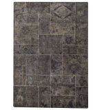 RugStudio presents MAT Vintage Sarangi Grey Hand-Tufted, Good Quality Area Rug