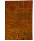 RugStudio presents MAT Vintage Sarangi Orange Hand-Tufted, Good Quality Area Rug