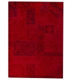RugStudio presents MAT Vintage Sarangi Red Hand-Tufted, Good Quality Area Rug