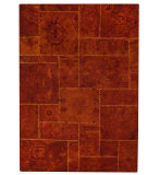 RugStudio presents MAT Vintage Sarangi Rust Hand-Tufted, Good Quality Area Rug