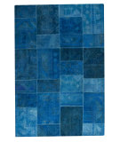 RugStudio presents Mat Vintage Sartaj Turquoise Hand-Tufted, Good Quality Area Rug