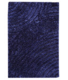 RugStudio presents MAT Orange Roca Tweed Blue Hand-Tufted, Good Quality Area Rug