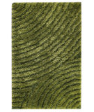 RugStudio presents MAT Orange Roca Tweed Green Hand-Tufted, Good Quality Area Rug