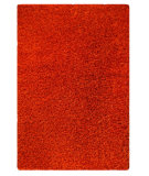 RugStudio presents MAT Orange Solo Twilight Orange Woven Area Rug
