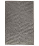 RugStudio presents MAT Orange Catena Union Square Grey Hand-Tufted, Good Quality Area Rug