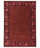 RugStudio presents MAT The Basics Vienna Plum Hand-Knotted, Good Quality Area Rug