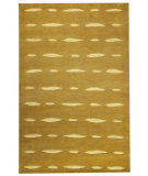 RugStudio presents MAT Orange Catena Wink Olive Woven Area Rug