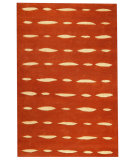 RugStudio presents MAT Orange Catena Wink Orange Woven Area Rug