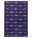 RugStudio presents MAT Orange Catena Wink Purple Hand-Tufted, Good Quality Area Rug