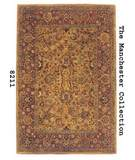 RugStudio presents MER Manchester 8211 Classic Tabriz Gold Hand-Tufted, Best Quality Area Rug