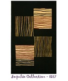 RugStudio presents Rugstudio Sample Sale 18937R Black Hand-Tufted, Good Quality Area Rug