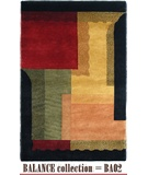RugStudio presents MER Balance BA02 Multi Hand-Knotted, Better Quality Area Rug