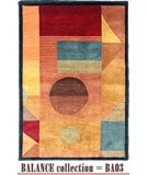 RugStudio presents MER Balance BA03 Multi Hand-Knotted, Better Quality Area Rug