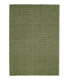 RugStudio presents MER Basket Weave BW08 Grass Green Machine Woven, Better Quality Area Rug