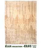 RugStudio presents MER Elan EL03 Cream-Beige Hand-Knotted, Better Quality Area Rug