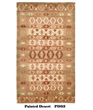 RugStudio presents MER Painted Desert PD03 Jewel Tone Geometric Hand-Knotted, Better Quality Area Rug