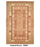 RugStudio presents MER Painted Desert PD08 Jewel Tone Geometric Hand-Knotted, Better Quality Area Rug