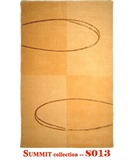 RugStudio presents MER Summit S013 Gold Machine Woven, Better Quality Area Rug