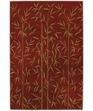 RugStudio presents Mohawk Select Colorful Expressions - Raymond Waites Bamboo Garden Royalty Red 59000-58071 Machine Woven, Good Quality Area Rug