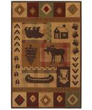 RugStudio presents Mohawk Select Colorful Expressions - Woolrich Westland 58700-58078 Machine Woven, Good Quality Area Rug